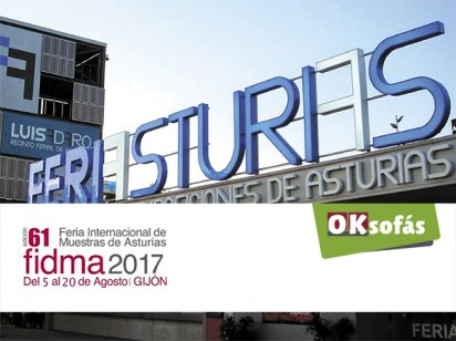 OK Sofás Asturias en el FIDMA 2017