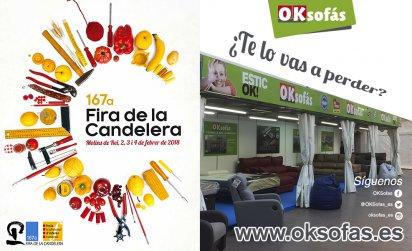 OKSofás en la 167ª Edición de la Feria de la Candelera