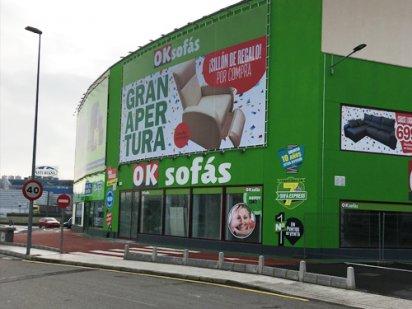OKSofás Asturias, Uno de los puntos más grandes de españa