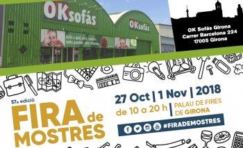 OKSofás acude a la Fira de Mostres de Girona