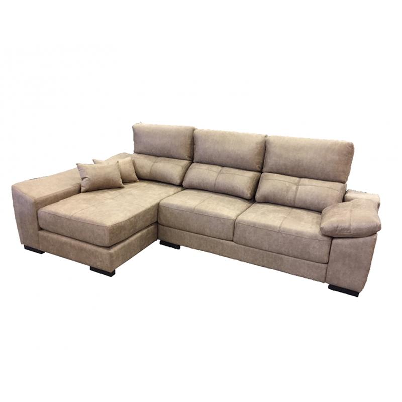 Chaiselongue con arcón y asientos deslizantes y cabeceros reclinables modelo Zero