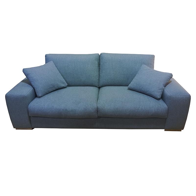 Estructura de madera de pino y tablero de aglomerado con asientos fijos. de sentada soft.