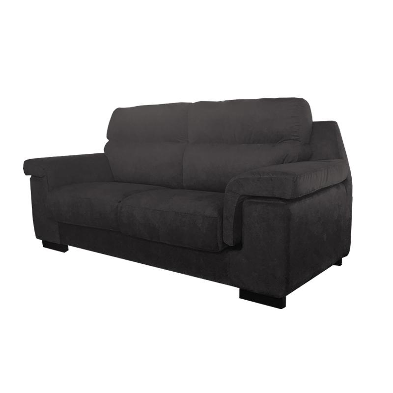 Sofá comodísimo color negro modelo Juan en OK Sofas