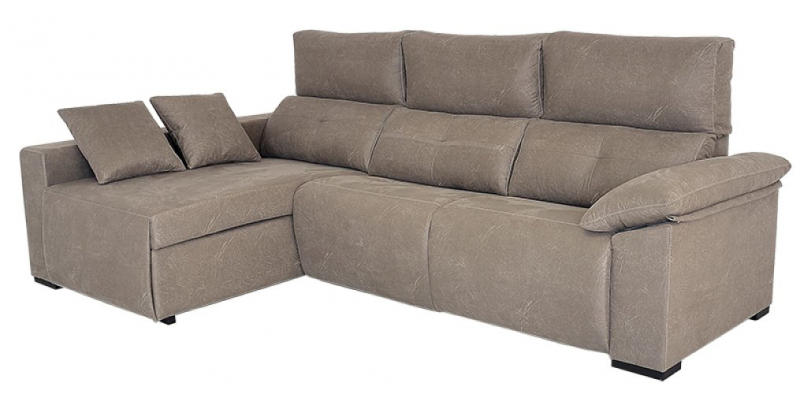 Sofá modelo Da Vinci con estructura de pino y asientos relax manuales o eléctricos Respaldos son abatibles, 3 plazas.