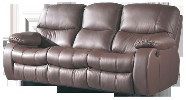 Sofá 3 plazas modelo Tellus con sistema relax manual o eléctrico.