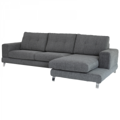 Sofá Cheslong modelo Chic con fundas extraibles muy cómodo.