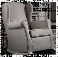 Sillón balancin modelo Loira, con asientos desenfundables