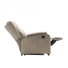 Sillón Bergen reclinable y reposapies con relax automático