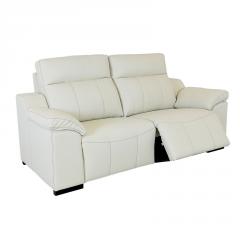 Sofá barato con sistema relax automático modelo Badra y fundas extraibles 2 plazas.