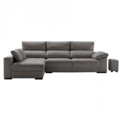 Sofá con asientos de sensación viscoelástica
