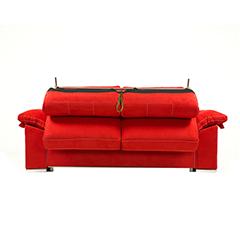 Sofá cama modelo Afrodita tiene brazo apertura con sistema italiano los asientos y respaldos son desenfundables.