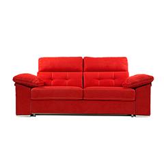 Sofá cama de apertura italiana con asientos desenfundables