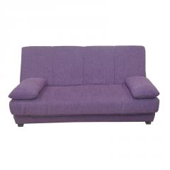 Sofá-cama con baúl interior y doble funda
