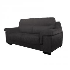 Sofá de sentada contemporánea y asientos de muelles ensacados.