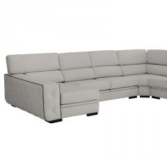 Sofá rinconera  modelo Eden 7 plazas, con asientos extraibles asientos deslizantes.
