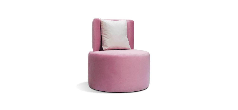 Cadeira Nice rosa