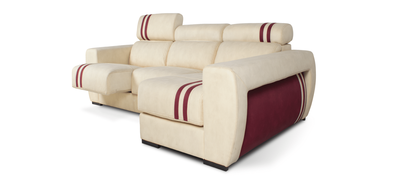 Sofá com chaise longue Cadilac