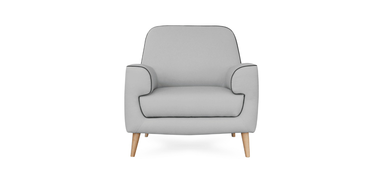 Cadeira Lisa cinza