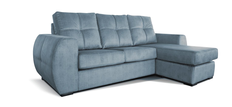 Sofá com chaise longue reversível Capri