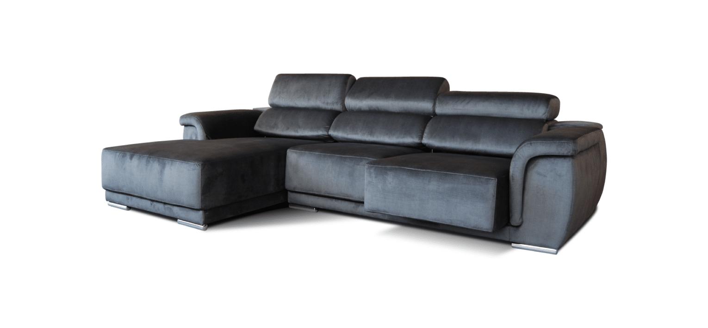 Sofá com chaise longue Lupo
