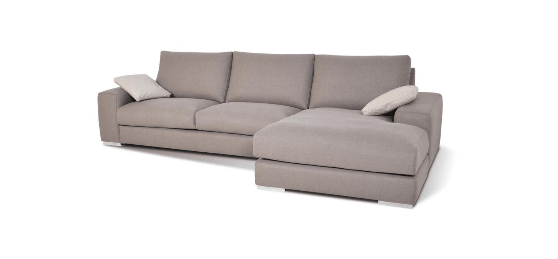 Sofá com chaise longue Malmo
