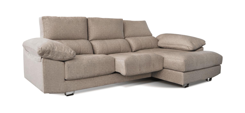 Sofá com chaise longue Buum