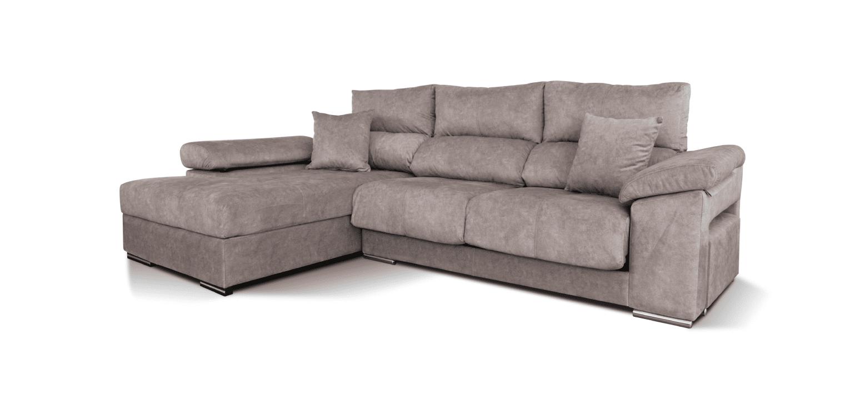 Sofá com chaise longue Qatar