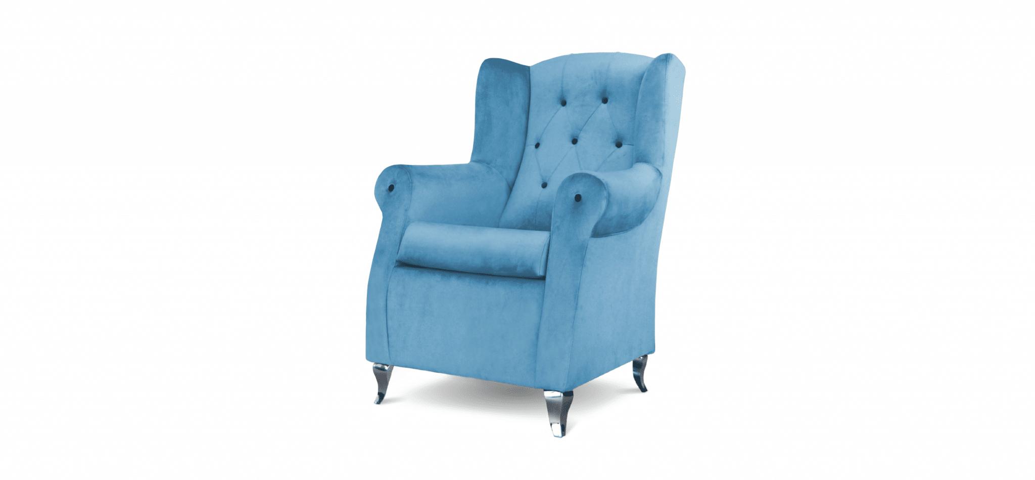 Cadeira Trono azul