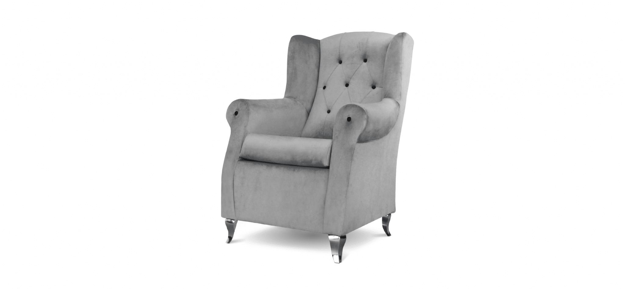 Cadeira Trono cinza
