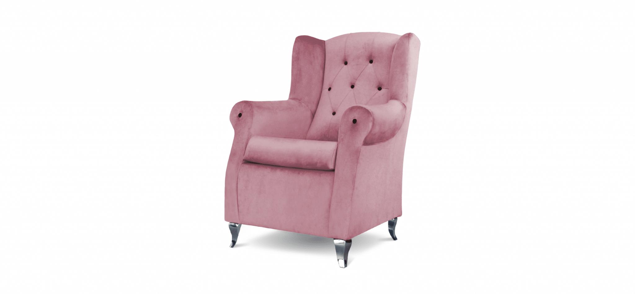 Cadeira Trono rosa