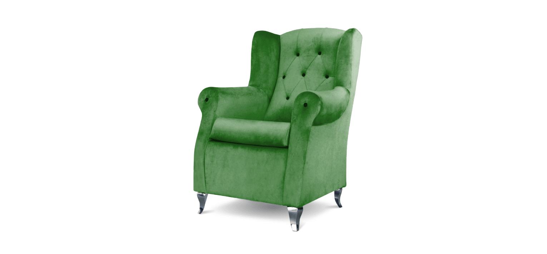 Cadeira Trono verde