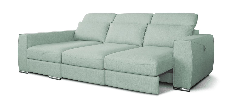 Sofá com chaise longue Bohéme viscoelástico