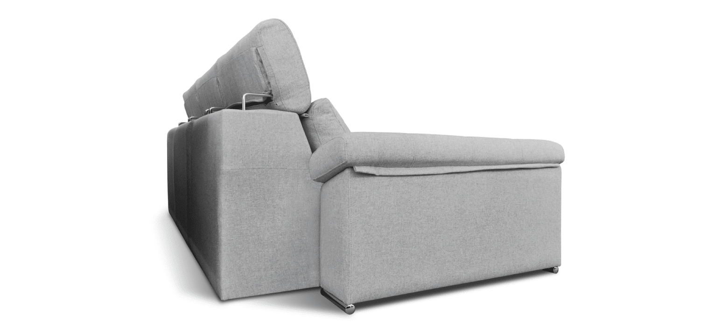 Sofá Fly com braços e assentos extensíveis