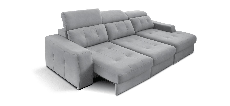 Sofá com chaise longue e cama adaptativa Natal