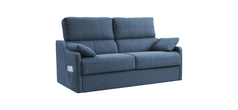 Sofá-cama Rhin com colchão em viscoelástico